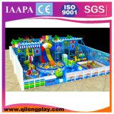 Hölzerner Spielplatz scherzt Innen (QL--031)