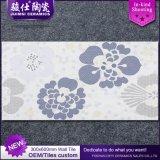 Azulejo de cerámica esmaltado 3D de la pared del azulejo de la porcelana de Foshan 300*600