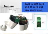 câmera impermeável do IP da bala 3G do IR do pixel 1.3mega