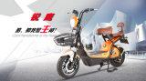 48V12ah電気モペットのスクーター450Wの小さいあと振れ止めの前部買物かごのスクーターLCD Speedmeter