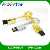 Conector mini USB Pendrive U disco llave de metal de la unidad Flash USB.