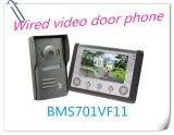 7 Zoll-videotür-Telefon-Türklingel-Wechselsprechanlage-Türklingel-AusgangsSicherheitssystem