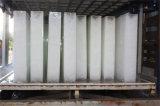 10 toneladas de bloques de hielo en contenedores máquina