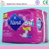 여자를 위한 매우 얇은 Nana 위생 냅킨