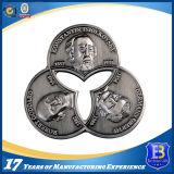 Moneta d'argento antica promozionale con la decalcomania di stampa (Ele-C013)