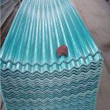 Strato ondulato del tetto del materiale da costruzione FRP con il prezzo poco costoso