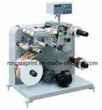 Des étiquettes automatiques et de rembobinage de la machine de refendage, étiquette coupeuse en long