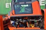 Fabricante 1.6Ton Articulados Jo16 Mini carregadora de rodas hidráulicas