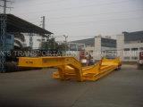 4개의 차축 Lowbed 트레일러 22m 120 톤