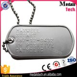 2017 Promoção Chaep Necklack Stainless Steel Military Dog Tags