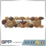 複数のカラーとの美化のための小石のモザイクボーダータイル