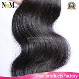 Cheveu brésilien d'onde de corps de vente en gros de cheveu de Vierge non transformée de la pente 6A