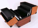 محترف جلد مستحضر تجميل صندوق; [بورتبل] [بو] بنية ضعف مفتوح [هيغ-كبستي] [مولتي-لر] مجوهرات حالات