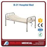 Krankenhaus-Möbel-Epoxy-Kleberüberzogener Halb-Fowler-medizinisches Bett B-31