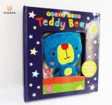 Книги книга в твердой обложке для детей с игрушечным Maument в крышке книги