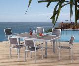 Rattan/patio di vimini del giardino che pranza gli insiemi per mobilia esterna (LN-1010)