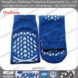 Hospital Medical Ward Non Slip Slipper Socks Calçado de borracha Trampoline