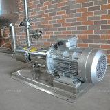 Sirop d'acier inoxydable cuve de mélange de chauffage électrique avec pompe d'émulsion