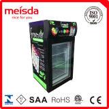 ガラスドアの冷凍庫