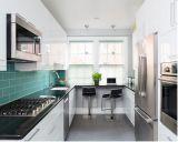 Moderne runde Form-hölzerne Küche-Schränke