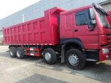 autocarro con cassone ribaltabile di trasporto di contenitore degli assi 8X4 quattro