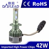 Farol dianteiro do carro H7 Low Beam 42W High Power Phillip Chips 12V