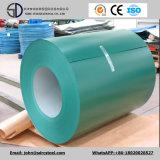 Изготовление Prepainted гальванизированная покрынная цветом стальная катушка листа PPGI PPGL катушки