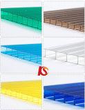 PC Sunhouse creux toit Rainshed Feuille Feuille de polycarbonate