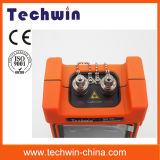 Высокая точность Techwin ручной оптический Рефлектометр оптической временной области машины Tw2100e Fibre OTDR портативный оптический Рефлектометр оптической временной области Meterwith сенсорного экрана