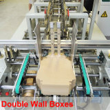 Automática 4/6 caja de esquina caja de la máquina Gluer (WO-750PC-R)
