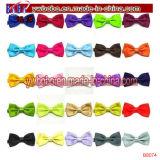 Polyester Tie Bow Tie Childs Kids Satin Bow Tie Tricoté Bowtie (B8074)