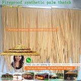 Kunstmatige Palapa met stro bedekt de Bladeren van het Riet van het Water met stro bedekt Synthetisch met stro bedekt het Dak van het Gras