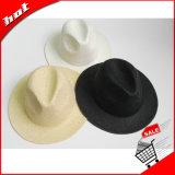 Chapéu de Sun Panamá da palha do papel de palha do Raffia