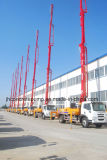 30mはセリウム&ISO9001が付いている具体的なポンプトラックまたはブームポンプトラックをトラック取付けた