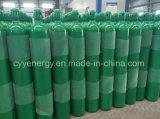 Cilindro de gás de aço sem emenda do dióxido de carbono do argônio industrial do nitrogênio do oxigênio ISO9809