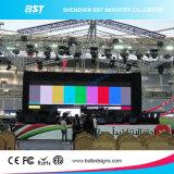 P6 de alta resolución&P8+P10 en el exterior de la pantalla LED de alquiler para eventos