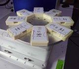 Máquina giratorio de amarre de grabado láser de fibra