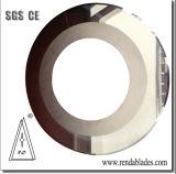 Aleación Tct cuchilla circular corte una cuchilla de corte para el papel de la caja de cartón ondulado