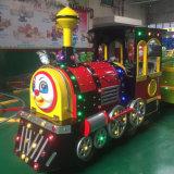 24 treni non cingolati del giocattolo dei capretti delle sedi per il campo da giuoco dei bambini (TL03)
