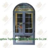 2014 새로운 디자인 Windows, 알루미늄 Windows, AS/NZS2208 Doubl 윤이 나기를 가진 여닫이 창 Windows