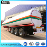 acoplado de acero del tanque del carburante-aceite del cartón 50000L