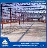 Almacén prefabricado industrial barato del acero de la azotea del metal de China