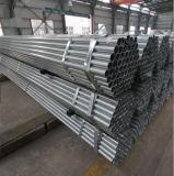 Galvanizado en caliente del tubo de acero galvanizado redondo/tubo de construcción