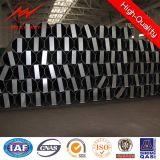 S-500mc Pali d'acciaio galvanizzati 11.88m-2580dan palo pratico con il fattore di sicurezza 2.1