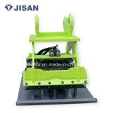 Costipatore idraulico del piatto del collegamento dell'escavatore della rotella o del cingolo