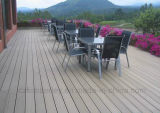 O sólido Grooved WPC Waterproof o revestimento estratificado do Decking