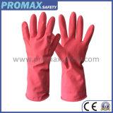 Толщиные многоразовые перчатки латекса с Ce