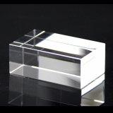Kristallblock des Eckenabschnitt-Oberseite-Transparent-K9 und Kristall-Würfel
