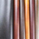 Tissu en cuir métallisé de textile artificiel synthétique d'unité centrale pour le sofa, meubles (801#)