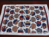 Хлопка велюра пигмента печати полотенце 100% чая